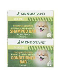 DERMagic Skin Rescue Shampoo & Conditioner Bar Combo