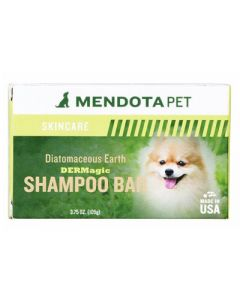 DERMagic Organic Diatomaceous Earth Shampoo Bar